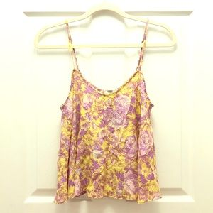 Forever 21 Silk Camisole Tank